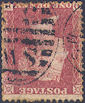 1857 1d Rose-red C10ea Plate 39 'OD' Wmk Inv